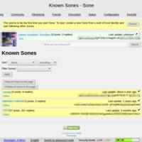 Sone | Known Sones