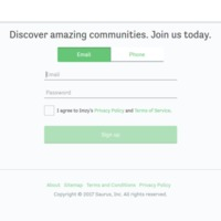 Imzy | Sign Up