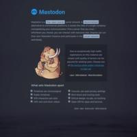 Mastodon.social   About